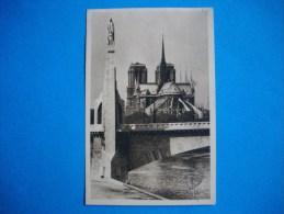 PARIS  -  75  -  Notre Dame Vue Du Pont De La Tournelle - Notre Dame De Paris