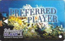 Wheeling Islands Preferred Player Card  (Blank) - Casino Cards