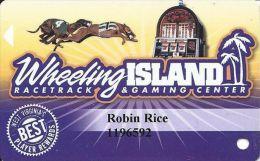 Wheeling Island Gaming Best Player Rewards Slot Card - Casino Cards