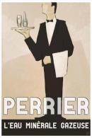 Postcard - Poster Reproduction - Perrier L´eau Minérale Gazeuse (P) - Publicité