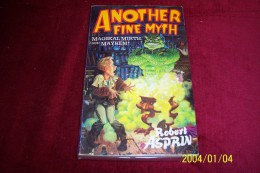 ROBERT ASPRIN  ° ANOTHER FINE MYTH - Books, Magazines, Comics