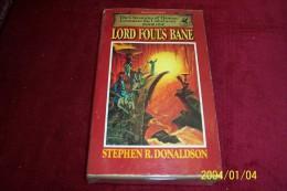STEPHEN R DONALDSON  °  LORD FOUL'S BANE - Books, Magazines, Comics