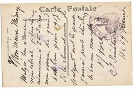 ILLE ET VILAINE CP 1917 HOPITAL COMPLEMENTAIRE N° 69 RENNES - Guerra Del 1914-18