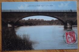 51 : Conflans-sur-Seine - Les Ponts - Partiellement Colorisée (ciel Bleu) - Léger Pli (centre) - (n°5167) - France