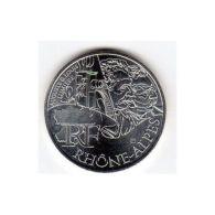 10 Euros Commémorative Argent Rhône-Alpes 2012 - France