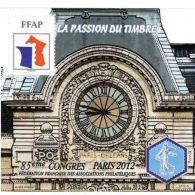 Bloc FFAP N°6 Passion Du Timbre 2012 - Francia