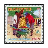 Timbre Mayotte N°263 - France