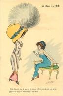 Xavier Sager, La Mode En 1910, Moi, Depuis Que Je Porte Des Robes... - Sager, Xavier