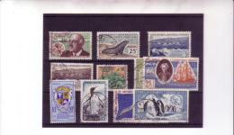SELECTIONS DE TIMBRES OBLITERES   SUPERBES OBLITERATIONS   COTE:309 EUROS - Tierras Australes Y Antárticas Francesas (TAAF)