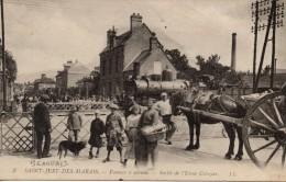 60 - BEAUVAIS  Saint Just Des Marais - Passage à Niveau - Sortie De L´Usine Colozier. - Beauvais