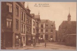 Cpa Malmedy   Place - Malmedy