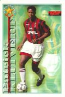 PATRICK KLUIVERT - LE CARTOLINE DI FORZA MILAN - EDIZIONE 1997/98 - Calcio