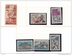 BONNES SERIES DES TAAF     COTE:228 EUROS - Colecciones & Series