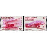 Nouvelle Calédonie Poste Aérienne N°230 Et 231 - Non Classés