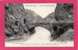 04 ALPES-de-HAUTE-PROVENCE, GUILLAUMES, ST-BENOIT, Pont De Gueydan, (Richaud) - Andere Gemeenten