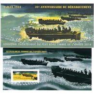 Bloc Souvenir N°114 - 70ème Anniversaire Du Débarquement - Blocs & Feuillets