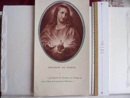 """GRAVURE  """"SOUVENIR DE MISSION """" En N & B édité Par APOSTOLAT DE LA PRIERE TOULOUSE - Religion & Esotérisme"""