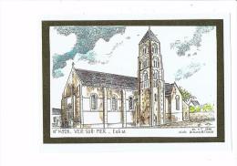 14 - VER SUR MER - L'Eglise - Ducourtioux - 1996 - Trouville