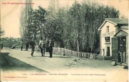 66 BOURG-MADAME  Le Poste De Douanes Françaises - Francia