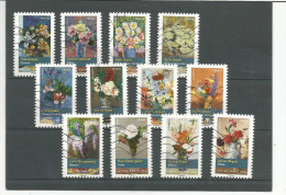 2015 SERIE COMPLETE BOUQUETS OBL. ACHAT IMMEDIAT! - Used Stamps