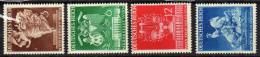 Deutsches Reich, 1941, Mi 768-771 **, Wiener Messe [120715L] - Neufs