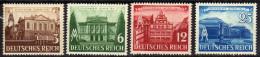 Deutsches Reich, 1941, Mi 764-767 **, Leipziger Messe [120715L] - Allemagne