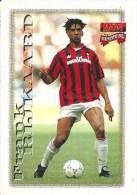FRANK RIJKAARD - LE CARTOLINE DI FORZA MILAN - EDIZIONE 1997/98 - Calcio