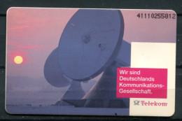 """Germany,Allemagne 1991 Telefonkarte,Phone Card TELEKOM """"Telekom-Wir Sind Deutschlands Kommunikations-Gesells """" 1 TC Used - Telecom"""