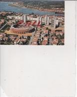 Bayonne - Vue Générale Sur Les Arènes, Au Fond Le Port Et L'Adour, Ref 1512-1059 - Bayonne
