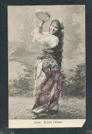 L2500 - La CANEA - Ricordo D´Oriente - La CANEE - GRECE - CRETE - ( Femme Orientale Avec Tambourin ) - Grecia