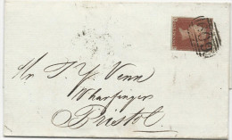 LETTRE DE 1845 AVEC CACHET 609 (PENZANCE) - 1840-1901 (Victoria)