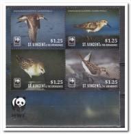 St. Vincent 2014, Postfris MNH, WWF, Birds - St.Vincent (1979-...)