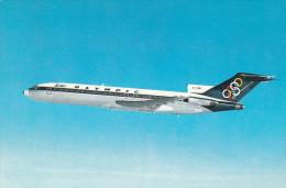 CARTOLINA: AEREO - OLYMPIC AIRWAYS (BOEING 727-200) - NON VIAGGIATA - F/P - COLORI - LEGGI - 1946-....: Moderne