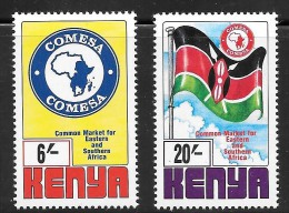 Kenya Scott   701-02 COMESA  Mint NH VF CV .95 - Kenya (1963-...)