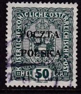 POLAND 1919 Krakow Sc 41 Used Signed Petriuk I-96 - Usados