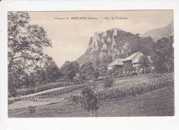FRETERIVE (73-Savoie) Vue Sur Le Château De Miolans, Vignes, Ed. L. Blanc 1920 Environ - Autres Communes