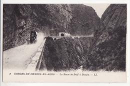Algérie  Gorges Du CHABET EL AKRA   La Route De Sétif à Bougie - Algérie
