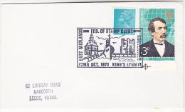 1973 Kings Lynn COVER EVENT SHIP Pmk Illus CUSTOM HOUSE, SOUTH GATE, SHIP Gb Stamps - Ships