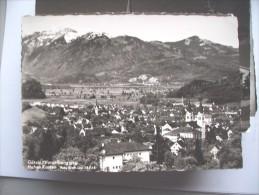 Oostenrijk Österreich Vorarlberg Götzis Und Hohen Kosten - Götzis
