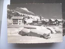 Oostenrijk Österreich Vorarlberg Lech Auto's Im Schnee - Lech