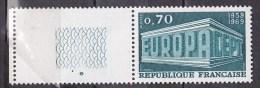N°1599  Europa De 1969 70c Bleu Vert: Un  Timbre Neuf Sans Charnière - Unused Stamps
