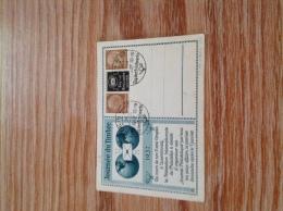 Tag Der Briefmarke 1937 Privater ZD Auf PP - Deutschland