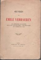 Oeuvres De Emile Verhaeren - Poésie