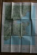 ST-TROPEZ- CAP LARDIER  XXXV- 35, Carte IGN 1/50 000°éditée 1958, Cavalaire, Cogolin, Ste Maxime, Ramatuelle - Cartes Topographiques