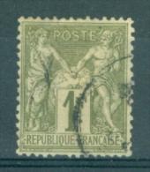 FRANCE - Yv. Nr 72 - Type Sage - Gestempeld/oblitéré - Cote 12,00 € - 1876-1878 Sage (Type I)