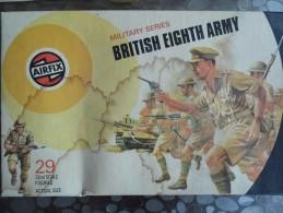 Airfix - British Eighth Army -dans Les Années 1970 - NO.51456-7 - Militaires