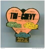 PINS AUTOMOBILES CHEVROLET TRI-CHEVY CAR SHOW & SWAPMEET 1988 COEUR - Badges