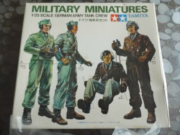 TAMIYA -japan - Military Miniatures - German Army Tank Crew - Kit N° MM119 - Militaires