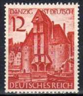 Deutsches Reich, 1939, Mi 715 ** Wiedereingliederung Danzigs [311012III] @ - Alemania