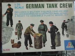ITALAEREI - Italie - German Tank Crew  - Kit N° 306 - - Militaires